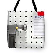 Handyman Board Tote Bag
