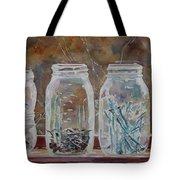 Handymans Preserves Tote Bag by Jenny Armitage