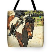 Hang On To Your Painted Horse Tote Bag