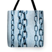 Hanged Chains Tote Bag by Carlos Caetano