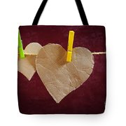 Hanged Heart Tote Bag