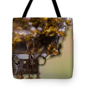 Hanging Beaded Votive Abstract 2 Tote Bag