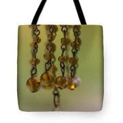 Hanging Beaded Votive Abstract  3 Tote Bag