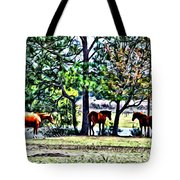 Hanging By The Pond Tote Bag