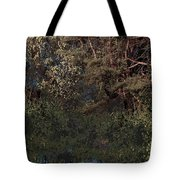 Hanging Garden In Moonlight Tote Bag