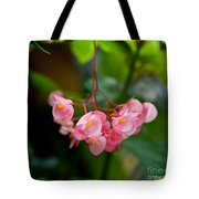 Hanging In Pink Tote Bag