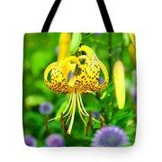 Hanging Lily Tote Bag