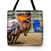 Hanging On For 8 Seconds Tote Bag