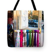 Hanging Out By The Door Tote Bag