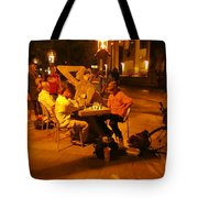 Hanging Out On 116th Street Tote Bag
