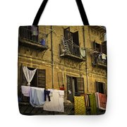 Hanging Out To Dry In Palermo  Tote Bag