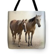 Hanging Out Together Tote Bag by Betty LaRue