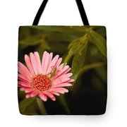 Hanging Out With A Flower Tote Bag