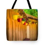 Hanging Pots - Watercolor Tote Bag