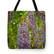 Hanging Wisteria Blossoms Tote Bag