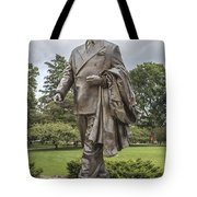 Hannah Statue At Msu Tote Bag