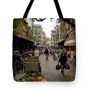 Hanoi Street Market    Tote Bag