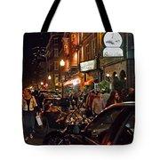 Hanover Street Nights - Boston Tote Bag