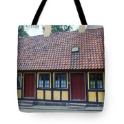 Hans Christian Anderson Childhood Home Tote Bag