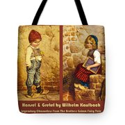 Hansel And Gretel Brothers Grimm Tote Bag