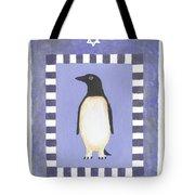 Hanukka Penguin Three Tote Bag