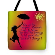 Happiest Moments Tote Bag