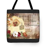 Happy Anniversary Mom And Dad Tote Bag