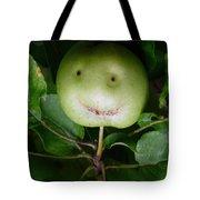 Happy Apple Tote Bag