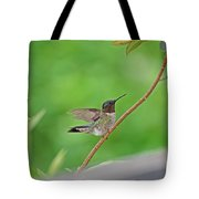 Happy As A Hummer Tote Bag