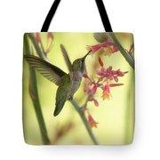 Happy As A Hummingbird  Tote Bag