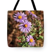 Happy Asters Tote Bag