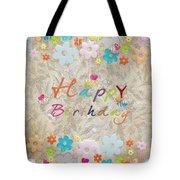 Happy Birthday 2 Tote Bag