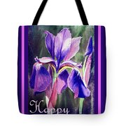 Happy Birthday Iris  Tote Bag