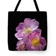 Happy Birthday Pink Roses Tote Bag