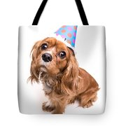 Happy Birthday Puppy Tote Bag