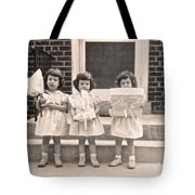 Happy Birthday Retro Photograph Tote Bag