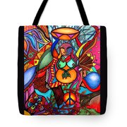 Happy Buddha Tote Bag