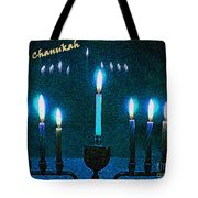 Happy Chanukah Tote Bag