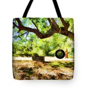 Happy Childhood Memories Tote Bag