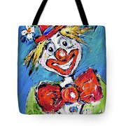 Happy Clown-ideal For Childrens Nurserys Tote Bag