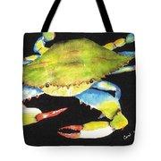 Happy Crab-3 Tote Bag