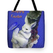 Happy Easter Card 3 Tote Bag
