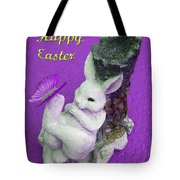 Happy Easter Card 4 Tote Bag