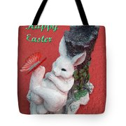 Happy Easter Card 5 Tote Bag