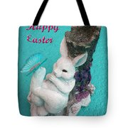 Happy Easter Card 6 Tote Bag