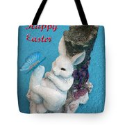 Happy Easter Card 7 Tote Bag