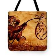 Happy Easter Coffee Art Tote Bag