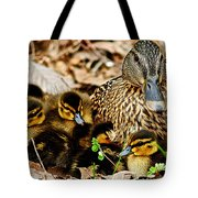 Happy Family Tote Bag by Frozen in Time Fine Art Photography