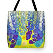 Happy Felt Tote Bag by Anastasiya Malakhova