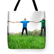 Happy Friends Tote Bag
